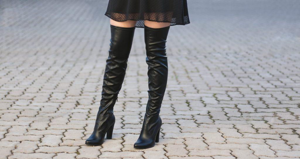 8337e36dc27d3 Como usar a Bota Over The Knee - Pompéia Fashion Club