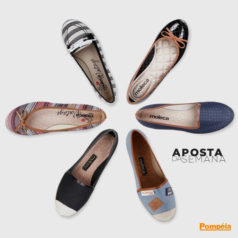 capa blog lojas pompeia sapatos flat
