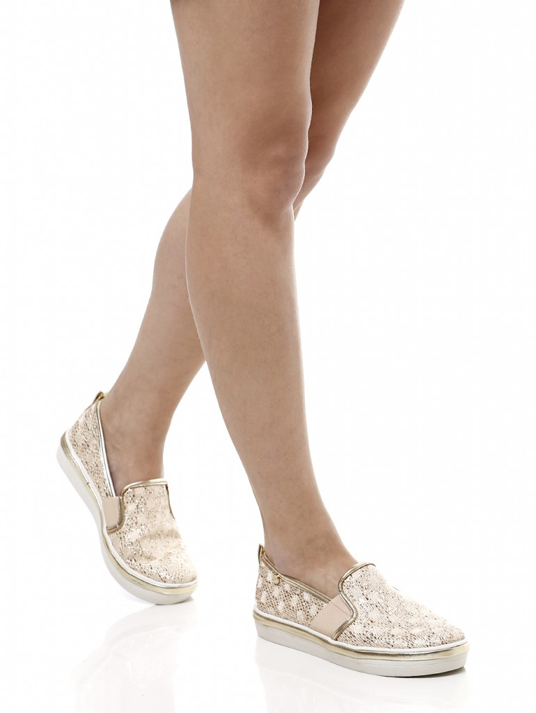 sapatos flat slipper lojas pompeia