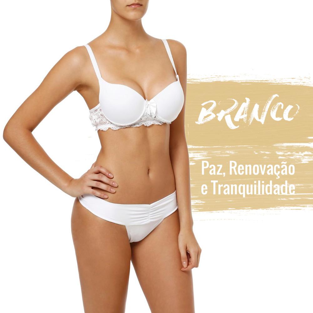 lingerie branca para o ano novo lojas pompéia