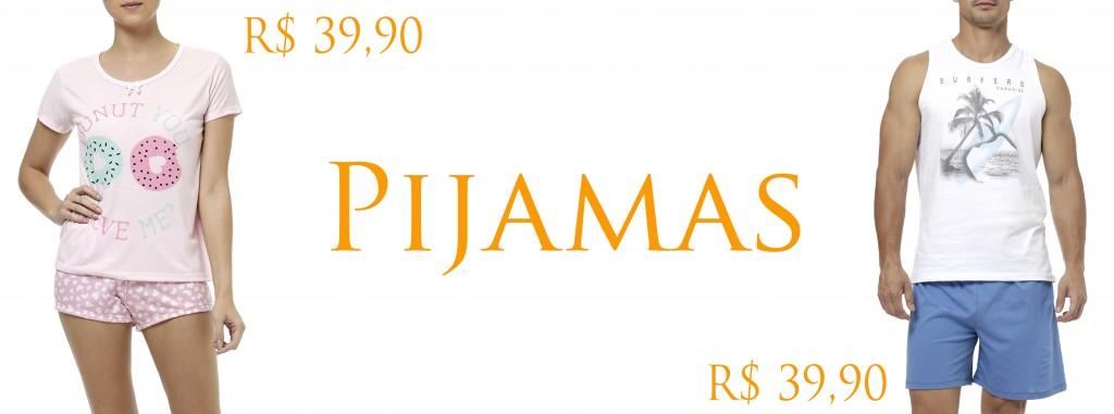 pijamas para amigo secreto lojas pompeia