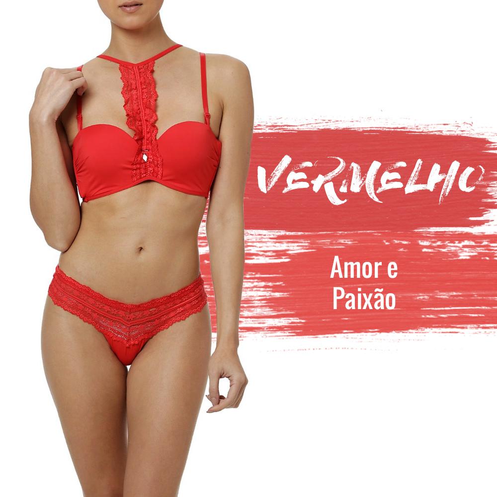 lingerie vermelha para o ano novo lojas pompeia