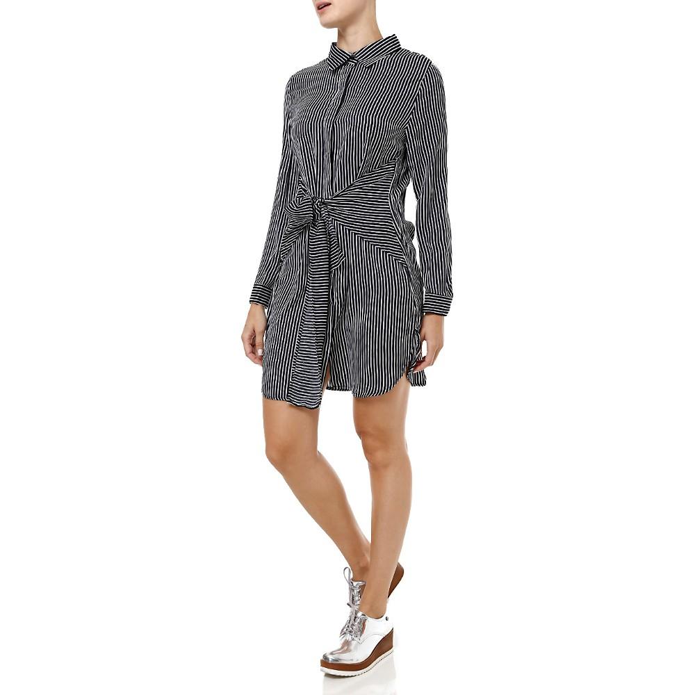 Vestido com flatform - Lojas Pompéia