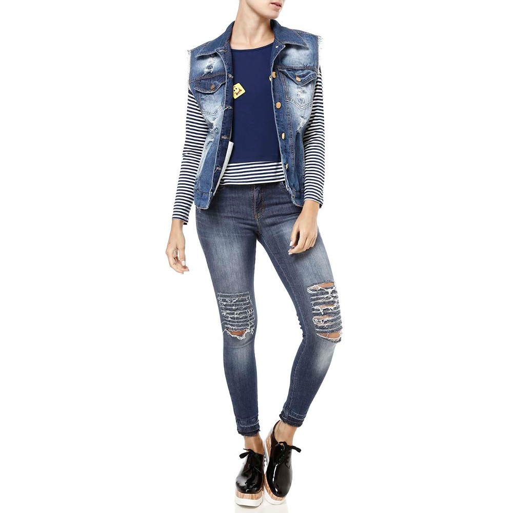 Jeans e Flatform - Lojas Pompéia