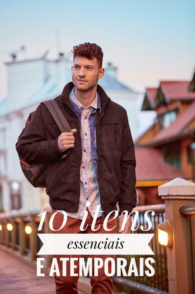Guarda-roupas masculino  10 itens essenciais e atemporais d00f84da90a