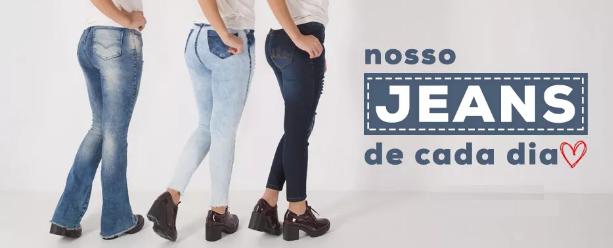 20b29cfaa4 Nós amamos Jeans! Aposte você também.