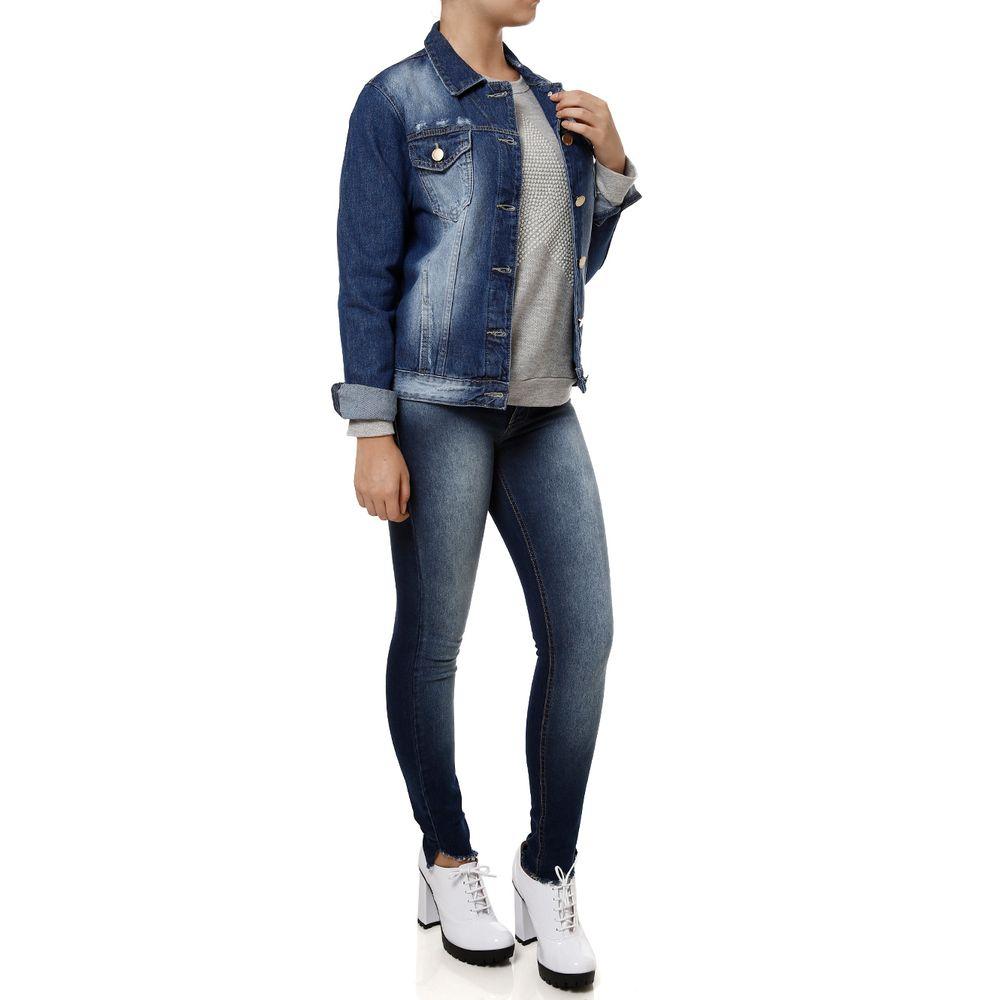 Jaqueta Jeans Tradicional - Lojas Pompéia