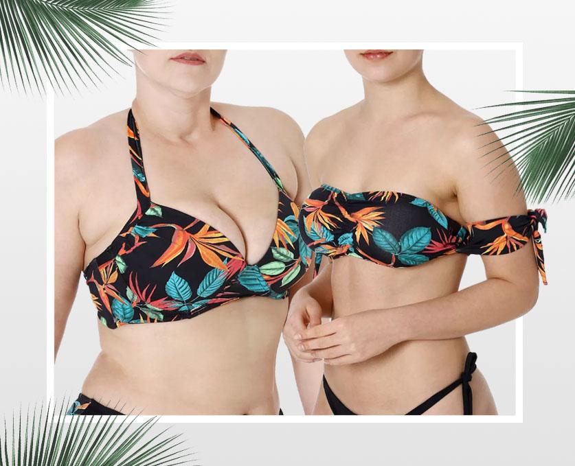 moda praia lojas pompeia - estampa tropical