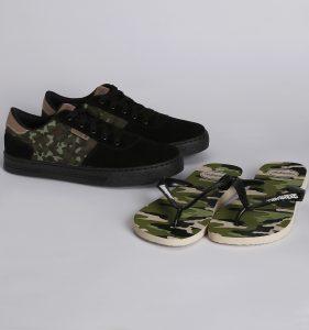 Calçados Camuflados - Lojas Pompéia