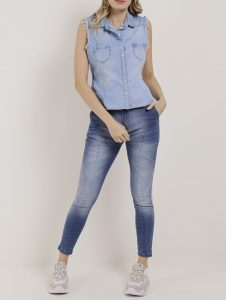 All Jeans tonalidade diferentes - Lojas Pompéia
