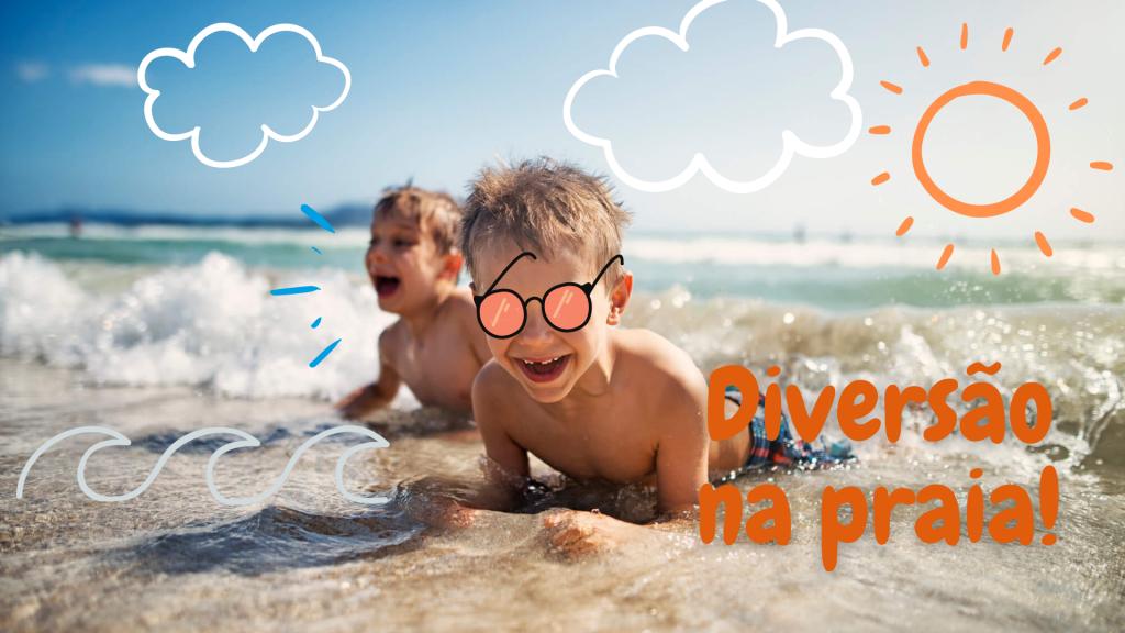 Moda praia infantil - Lojas Pompéia